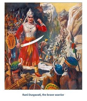 वीरांगना रानी दुर्गावती भारत की शान - अरुण द्विवेदी