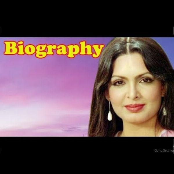 Parveen Babi - Biography