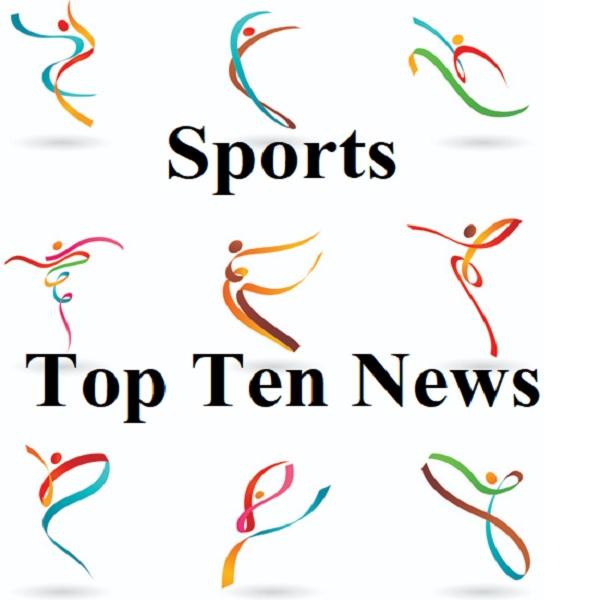 #Sports Top Ten 19 nov 2019