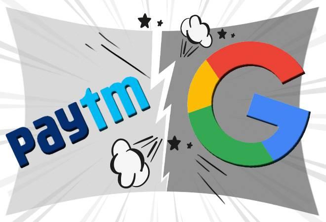 पेटीएम ने गूगल पर लगाए गंभीर आरोप