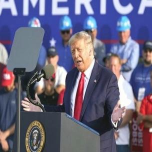 कोरोना : Donald Trump चुनावी रैली में झूठ बोले !